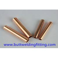 Quality 70/30 Copper Nickel Tube , Seamless Straight Copper Pipe For Water Heater for sale