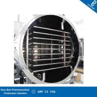 China Horizontal Barrel Type Production Freeze Dryer , Industrial Freeze Drying Equipment on sale