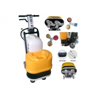Buy cheap Two Heads Single Phase 30L Terrazzo Polishing Machine For Hotel Home Warehouse product