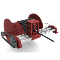 Buy cheap Customized Color Lebus Grooved Drum / Hydraulic Winch With Spooling Device product