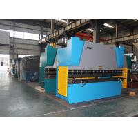 Buy cheap Y X Axis Crowning CNC Control 100 Ton Press Brake Plegadora Hydraulic Press Bender product