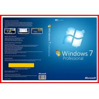 Buy cheap English version 32bit 64 bit windows 7 professional DVD with OEM KEY Licence product