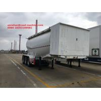 Buy cheap Bulk Cement Tank Trailer 50-80 Ton Loading Capacity For Cement Plant  With Bohai Air Compressor product