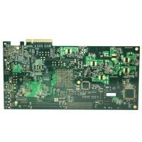 Buy cheap 10 layers FR-4 ENIG High Tg PCB Circuit Board Manufacturing with golden finger from wholesalers