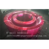 Buy cheap ASTM AISI  DIN 36CrNiMo4 JIS SNCM439 Forged Gear Blank Internal Gear RIng Blanks Alloy Steel product