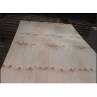 Buy cheap Commercial Knotty Pine Plywood 2 Time Hot Press Premium Quality FSC Approved product