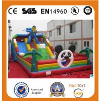 Buy cheap Hot Sale high quality commerical inflatables bouncer slide in China product