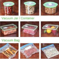Buy cheap VACUUM JAR, VACUUM CONTAINER, channel vacuum pouch food storage bag, Safety food grade vacuum storage bag, home used vac product