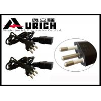 Buy cheap 10A 250V Computer Monitor Power Cord , Brazil Home Appliance Power Cord product