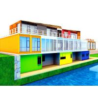China Practical Prefab Commercial Buildings , Commercial Storage Buildings With Office on sale