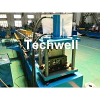 Buy cheap Round Gutter Roll Forming Machine With PPGI Aluminum Forming Material , 0-15m/min product
