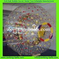 Quality Zorb Ball Football Bubble Soccer Bumper Human Hamster Water Walking Roller Body Zorbing PVC TPU Adult Kid Size Colored for sale