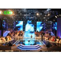 Buy cheap Stage curtain p6  smd full color hanging cabinet 576*576mm 1/16 scan led screen product
