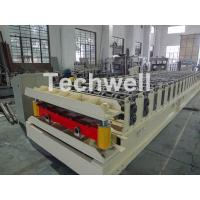 Buy cheap Wall Cladding Roof Roll Forming Machine , Metal Forming Equipment Yield Strength 250-350Mpa product