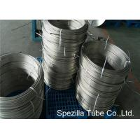 China Instrumentation Stainless Steel Coil Tubing , ASTM A213 TP304 Polished Stainless Steel Pipe on sale