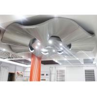 Buy cheap Corrugated Aluminum Wall Panels / Architectural Metal Ceiling Tiles Suspended product