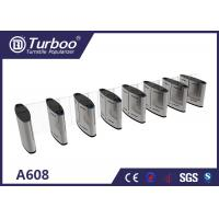 Buy cheap 304 Stainless Steel Turnstile Security Products 35-40 Persons / Min Transit Speed product