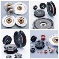 Buy cheap Customized Various Models Plastic Cable Pulley With Bearing , Low Friction Coefficient product