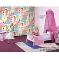 Buy cheap Fancy Interior Kids Bedroom Wallpaper Animals Design Non Woven Paper Material product