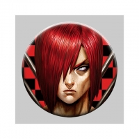 Buy cheap Flip Badge One Piece 3D Lenticular Pin With Luffy Zoro Anime product