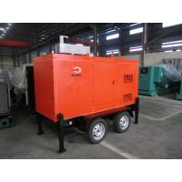 Buy cheap Mobile Trailer Mounted Generator 40KW / 50KVA With Silent Canopy And Fuel Tank product