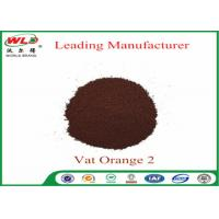 Buy cheap C I Vat Orange 2 Vat Golden Orange 2RT Dye Powder For Cotton Fabric product