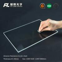 Buy cheap Robot partitions with abrasion resistant acrylic sheet for aluminum extrusion product