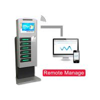 Advanced Cell Phone Charging Station Remote Manage Function Wireless Option