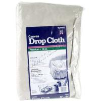 Buy cheap Damp - Proof Colored Canvas Drop Cloths / Cotton Drop Cloth For Sofa Cover product