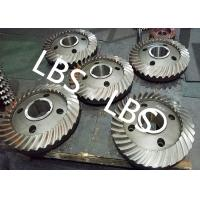 Buy cheap High Pressure Double Helical Gear Electric Water Pump Gearbox Parts Big Spiral Bevel Steel Material product