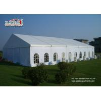 Buy cheap Cheap Fire Resistant Clear Span High Peak Large Second hand Marquee For Sale product