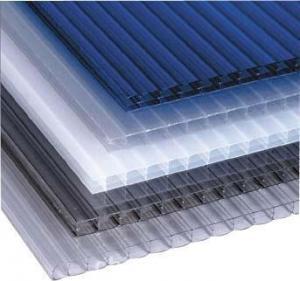 Waterproof Eco Friendly greenhouse twin wall polycarbonate sheet 4mm 8mm 10mm