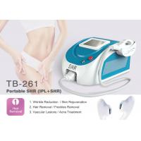 Buy cheap CE Approved Portable IPL SHR Hair Removal Machine , Facial Surgery Machine from wholesalers
