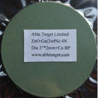 Buy cheap ZnO/Ga2O3,GZO sputtering target from wholesalers