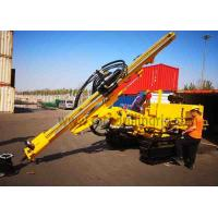 Buy cheap JC358A Down Hole Rock Drilling Rig Crawler Hydraulic Drill Rig For Power Station product
