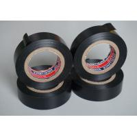 Buy cheap Black PVC Electrical Adhesive Tape , 18mm Width Wiring Loom Tape product
