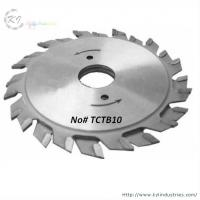 Buy cheap T.C.T Adjustable Scoring Saw Blades for Melamine Faced Chipboard product