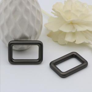 Buy cheap Handmade polishing 1 inch gunmetal color metal square bag buckle for straps product