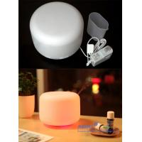 China Portable Ultrasonic Aroma Diffuser Humidifier With 7 Color Changing LED Lamps on sale