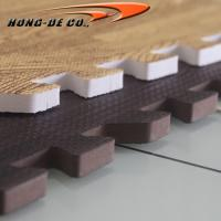Buy cheap Non-toxic Soft Wood Tiles - EVA foam softer , safety passing EN71,REACH, Formamide product