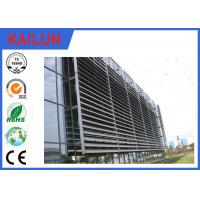 Buy cheap 6000 Series External Aluminium Louvres , Durable Extruded Aluminium Sun Louver product