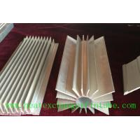 Buy cheap Round Extruded Aluminum Heat Sink Profile With Small Longitudinal Fins product