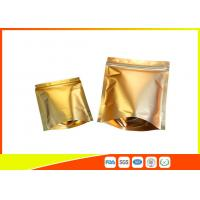 Buy cheap Reusable Aluminium Foil Stand Up Coffee Packaging Bags Tea Cookie Packing Bag With Zip Lock product