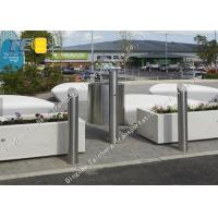 Buy cheap Hot Dip Galvanizing Fixed Post Parking Lot Barrier Polished And Brushed product