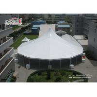 Buy cheap Heavy Duty White High Peak Tents / Marquees , Clear Span Tents Structure For Event product