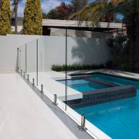 Buy cheap Tempered Swimming Pool Glass Fence / Glass Railing / Glass Balustrade product