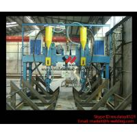 Buy cheap LHA 4000mm H Beam Gantry Type Automatic  Welding Machine With Saw Welder product