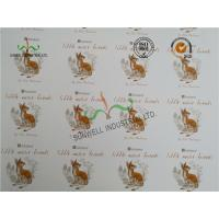 Buy cheap Foldable Swing Tags For Bags ,  300GSM Coated One Side Spot UV Tags product