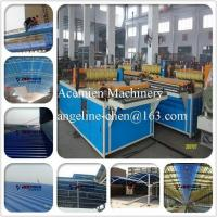 Buy cheap PVC colorsteel corrugated composite roof tile/roofing sheet making machine production line product