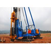 Buy cheap High Performance Hammer Piling Machine / Drop Hammer Pile Driving product